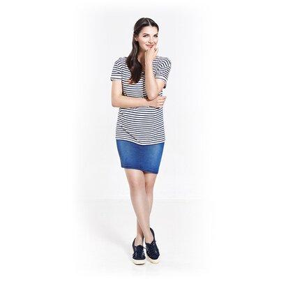 Le T-shirt de grossesse Boyfriend Striped de PAULA JANZ