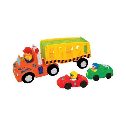 kiddieland camion transport de voitures commander en ligne babywalz. Black Bedroom Furniture Sets. Home Design Ideas