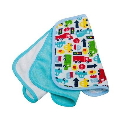 Waschtücher 3er-Pack Autos von ROTHO BABYDESIGN