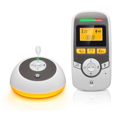 Le babyphone audio numérique MBP 161 de MOTOROLA