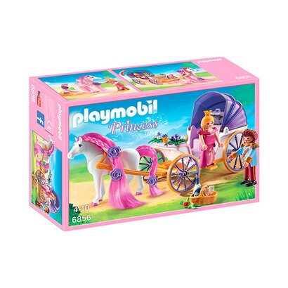 Playmobil princess 6856 k nigspaar mit pferdekutsche - Playmobil kutsche ...