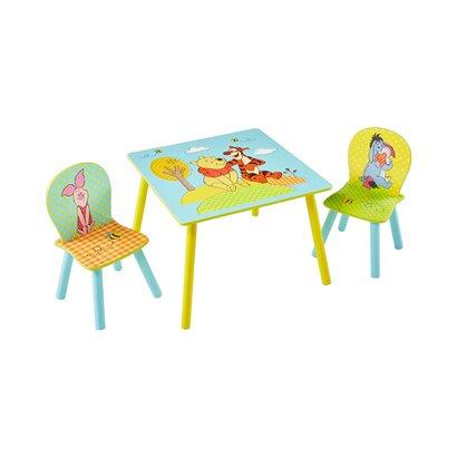 Worldsapart winnie l 39 ourson disney l 39 ensemble table - Table et chaise winnie l ourson ...