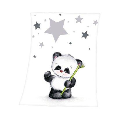 La couverture bébé Fynn le panda 75 x 100 cm de HERDING