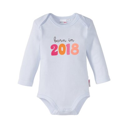 Romper met tekst born in 2018 van BORNINO