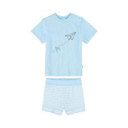 Pyjama kort Papieren vliegtuigje van SANETTA