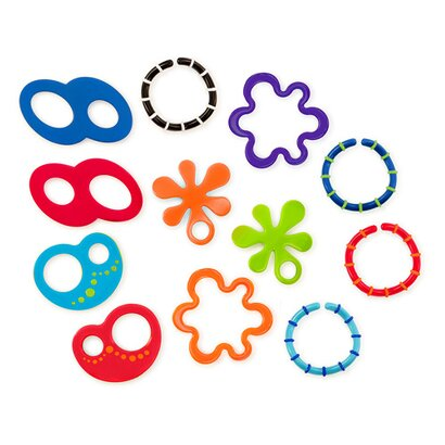 12 Beißringe Linky Loops™ Set von OBALL
