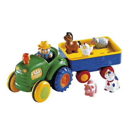 Traktor mit Anhänger von KIDDIELAND