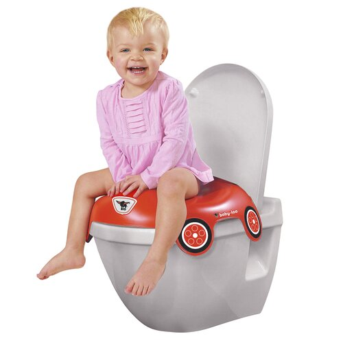 big wc sitz bobby car baby toilette neu rot ebay. Black Bedroom Furniture Sets. Home Design Ideas