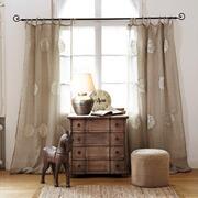 gardinen vorh nge im vintage landhausstil online. Black Bedroom Furniture Sets. Home Design Ideas