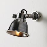 Wandlampe Geneuille aus Messing