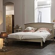 Doppelbett Cavaillon aus Pappelholz