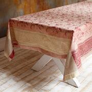 Tischdecke Aiffres aus Leinen