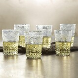 Weinbecher Troyes aus Glas, 6er-Set