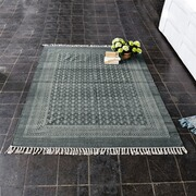 Teppich Chateaulin aus Baumwolle