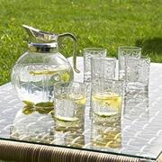 Deckelkrug Cogolyn mit 6 Gläser