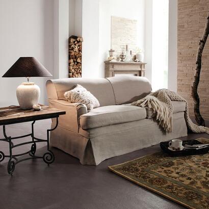 Klassisches Sofa Mit Waschbarem Leinenbezug Online Kaufen Mirabeau