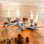 Kerzenleuchter Maulelon aus Aluguss