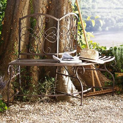 baumbank ahmadnagar aus metall online kaufen mirabeau. Black Bedroom Furniture Sets. Home Design Ideas
