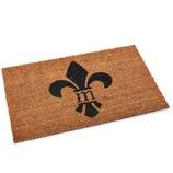 Fußmatte Lilie aus Kokos