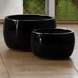 Keramiktopf Fnideq, 2-teilig