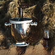 Weinkühler Vizianagaram aus Messing