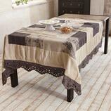 Tischdecke Rossel aus Leinen