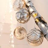 Glaskugeln Goul, 4er-Set