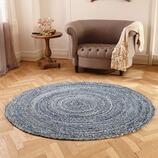 Teppich Tamsa aus Baumwolle