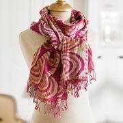 Schal Pecora aus Seide