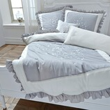 Bettwäsche Carapelle aus Baumwolle, 2-teilig