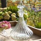 Glasdekanter Thure mit Lilienverschluss