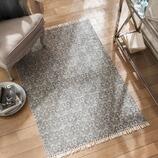 Teppich Aigue aus Baumwolle