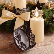 Kerzenhalter Eyrieux aus Metall, 4er-Set