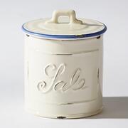 Salzdose Vanne aus Keramik