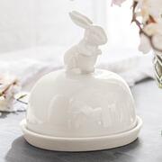 Hasen-Cloche Rance aus Keramik