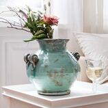Vase Solnan aus Terrakotta