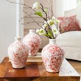 Vase Crume aus Keramik, 3er-Set