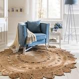 Teppich Lignon aus Jute