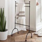 Handtuchhalter Bès aus Schmiedeeisen