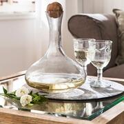 Karaffe Moulde aus Glas