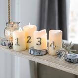Kerzenstecker Autise, 4er-Set
