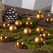 Weihnachtskugeln Aron, 12er-Set