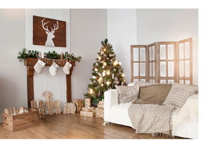 weihnachtlich dekorieren die sch nsten ideen die. Black Bedroom Furniture Sets. Home Design Ideas