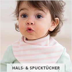 Hals- und Spucktücher für Babys