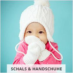 Schals und Handschuhe für Babys