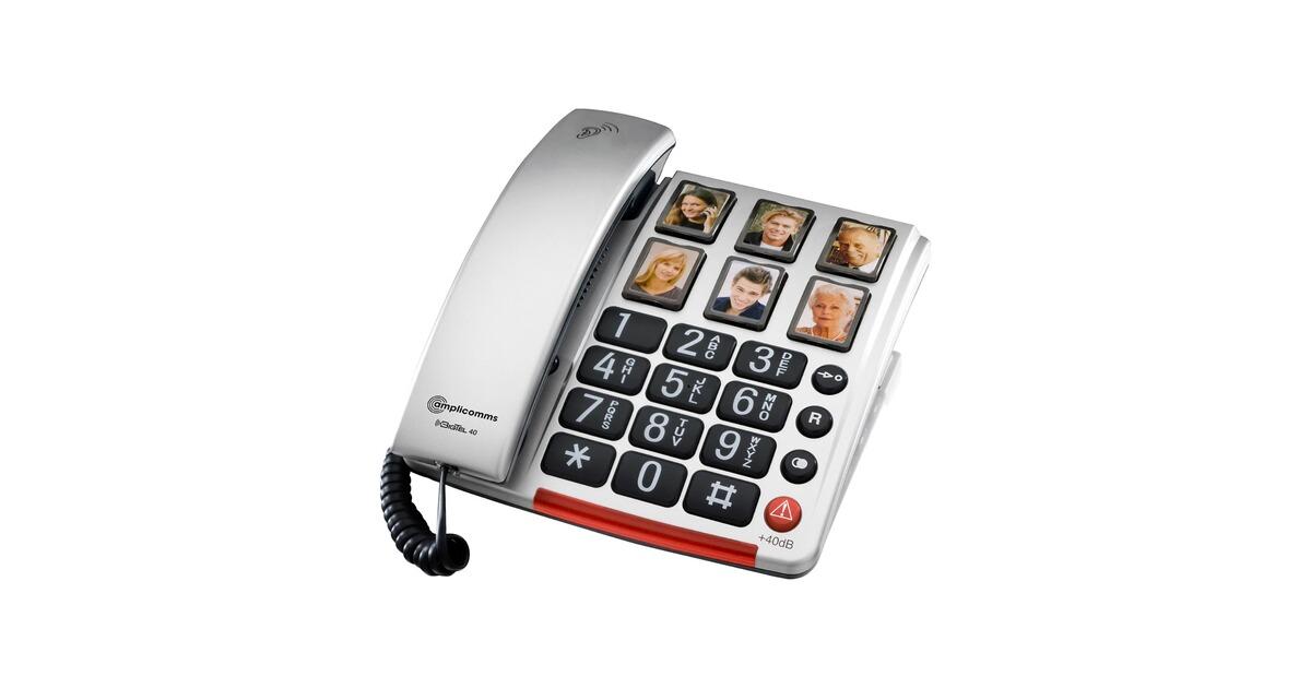 Großtasten Telefon mit Fototasten online kaufen | walzvital