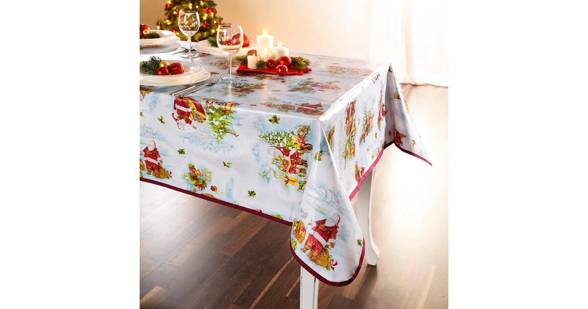 tischdecke santa online kaufen die moderne hausfrau. Black Bedroom Furniture Sets. Home Design Ideas
