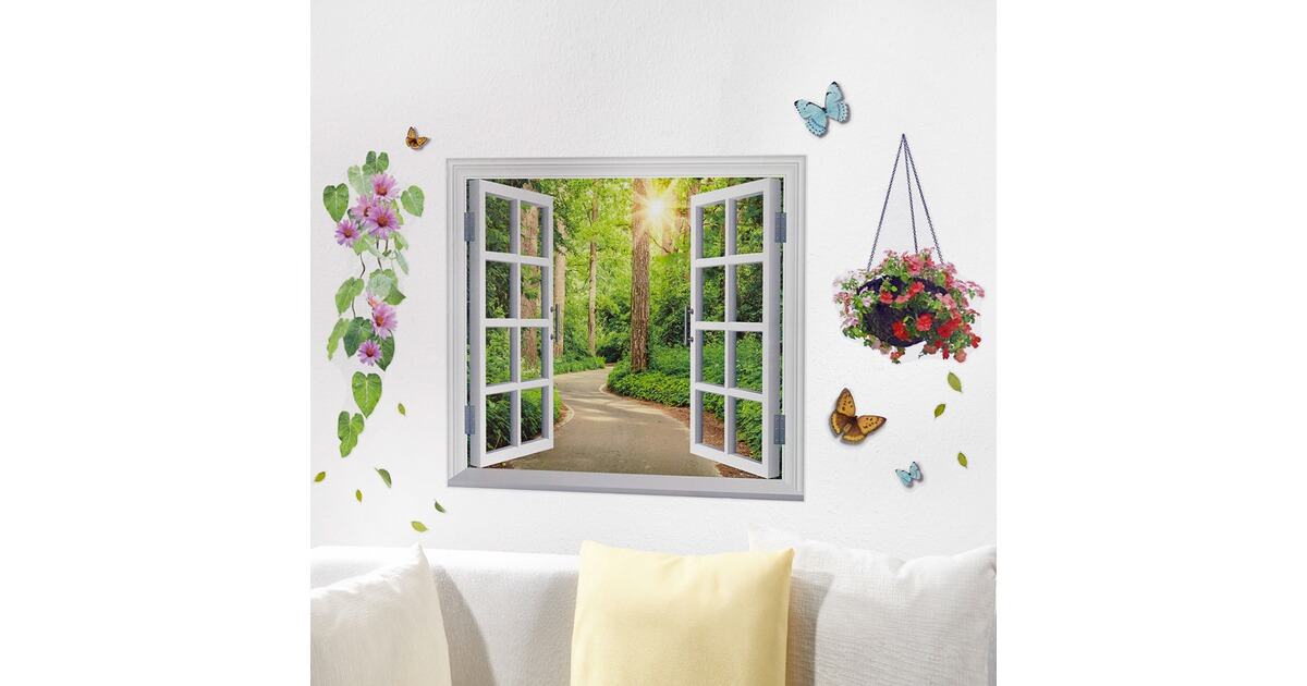 Wandstickers voorjaarsgroet online kopen huis comfort for Hangdecoratie raam