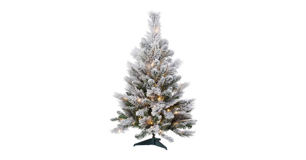 Tannenbaum Mit Schneefall.Tannenbaum Mit Schnee Und Led Online Kaufen Die Moderne Hausfrau