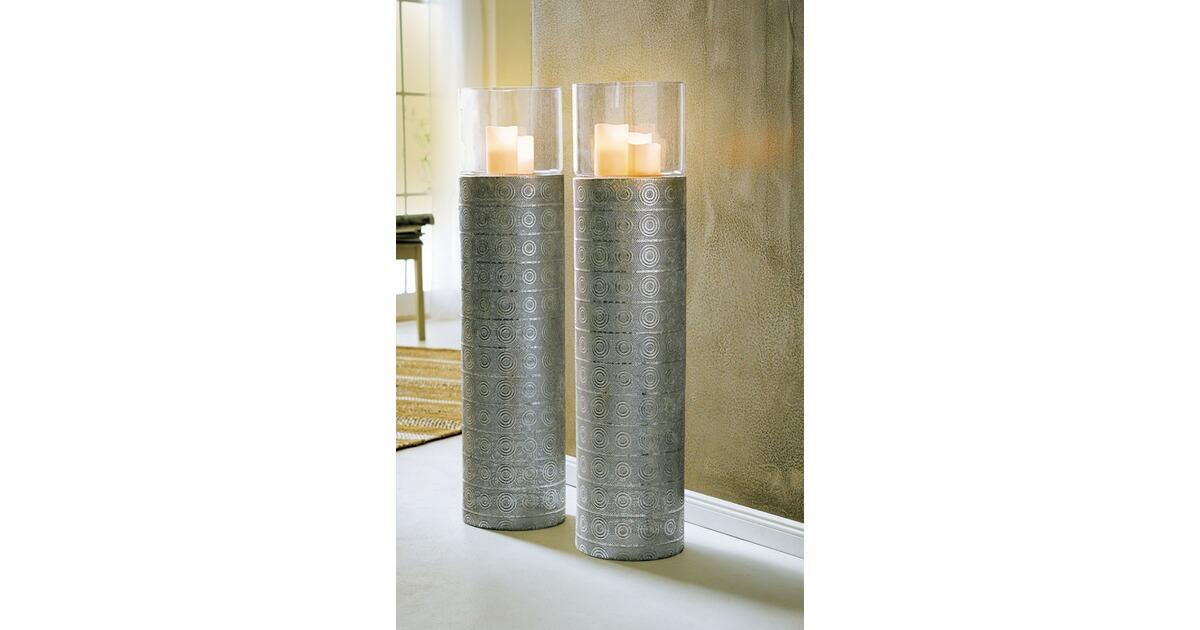 Boden Windlicht Silver Oriental Silberfarben Online Kaufen Die